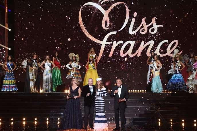 L'élection de Miss France, le 16 décembre 2017.