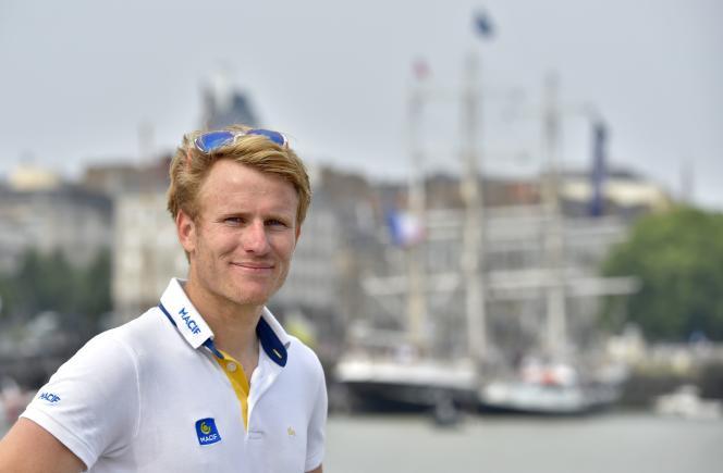 Le navigateur François Gabart, à Nantes (Loire-Atlantique), le 22 juin.