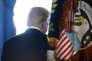 Le président Donald Trump, après son discours sur la réforme fiscale à la Maison Blanche, à Washington, le 13 décembre.