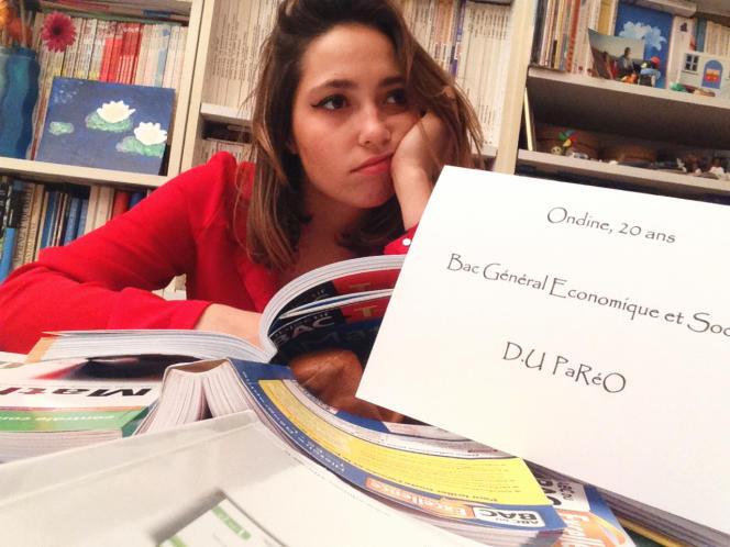 Ondine, 20 ans, étudiante à Paris. La ZEP
