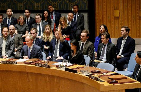 La mise au vote lundi d'une résolution condamnant la reconnaissance américaine de Jérusalem comme capitale d'Israël«est une insulte et un camouflet que nous n'oublierons pas», a affirmé l'ambassadrice américaine à l'ONU.