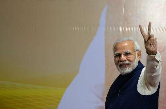 Le premier ministre indien, Narendra Modi, le 18 décembre 2017 à New Delhi.