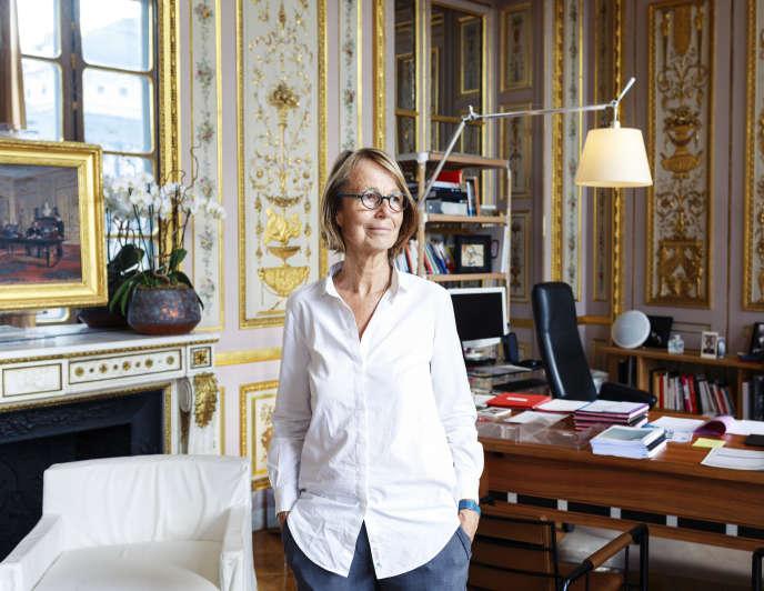 Françoise Nyssen, ministre de la culture, à Paris, le 30 mai 2017.