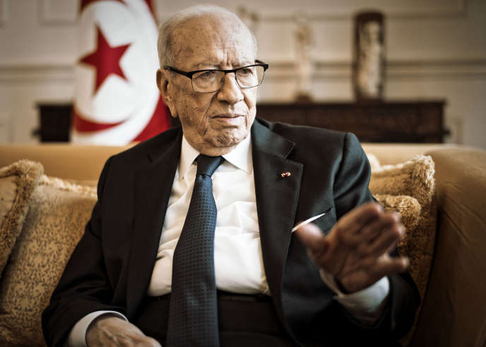 Béji Caïd Essebsi, à Paris, le 14 décembre.