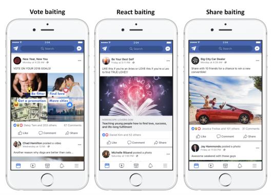 Facebook va désormais sanctionner l'usage de titres racoleurs.