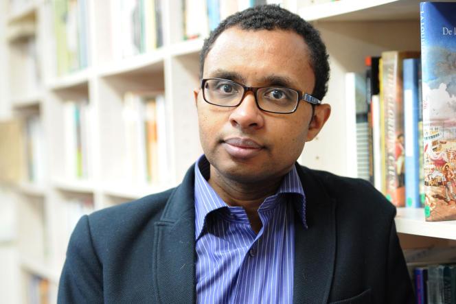 L'historien Pap NDiaye, le 13 février 2012 à l'EHESS, à Paris.