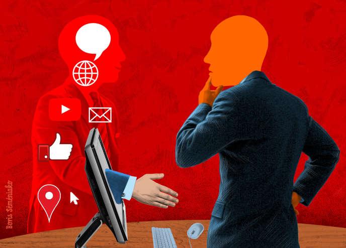 «Les réseaux sociaux d'entreprise ont été créés pour décloisonner les organisations du travail, pour briser les silos, pour faire circuler l'information sans tenir compte des hiérarchies de pouvoir».