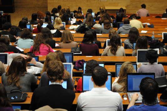 Université Paris-II Panthéon Assas, en février 2012.