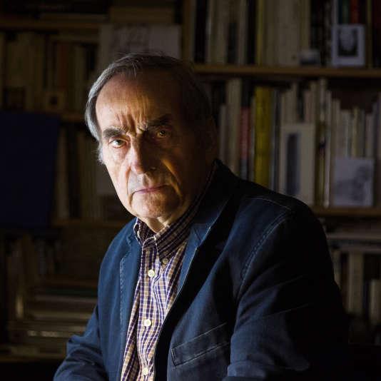 L'écrivain Charles Juliet, en 2013.