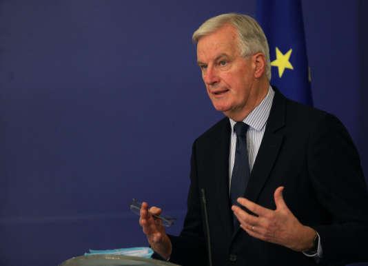 M. Barnier a rappelé qu'il n'y aurait « pas de transition à la carte ».