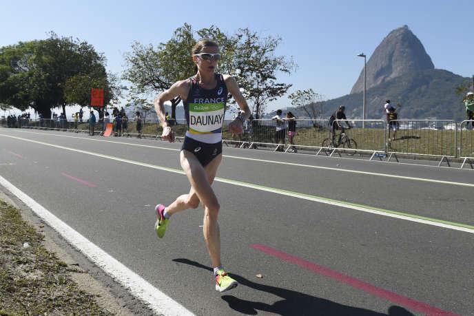 Christelle Daunay, lors des Jeux olympiques de Rio, en août 2016.