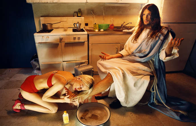 « Anointing », de David LaChapelle (2003).