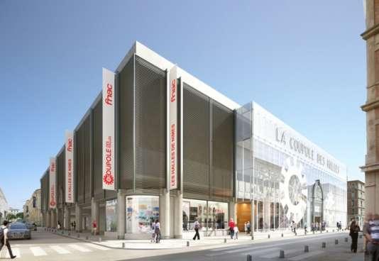 «Après trois ans de travaux d'un montant de 7 millions d'euros, la rénovation complète de ce centre commercial touche à sa fin»