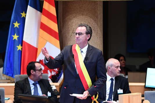 Le président de la région PACA, Renaud Muselier, le 29 mai 2017 à Marseille.