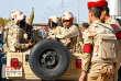 Des militaires égyptiens dans le nord-sinaï, en Egypte le 1 décembre.