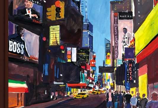 Une collaboration avec Louis Vuitton« New York Travel Book», 2013.