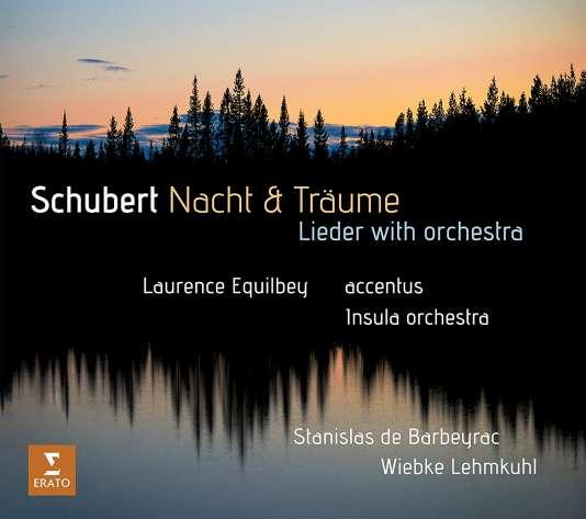 Pochette de l'album« Nacht & Traüme» consacré à Franz Schubert par Accentus et Insula Orchestra, sous la direction de Laurence Equilbey.