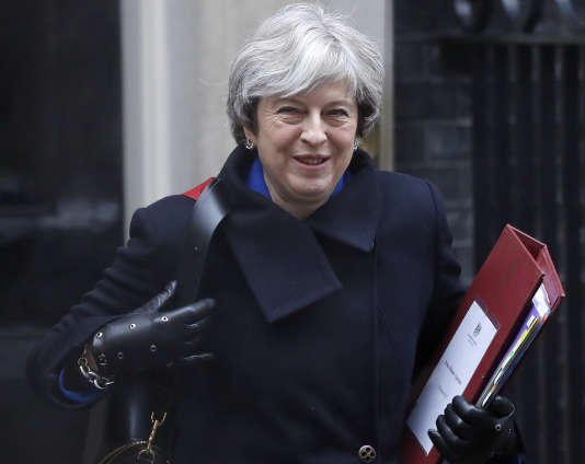 Theresa May, le 20 décembre.