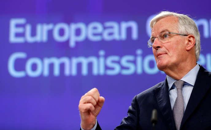 Michel Barnier, le 20 décembre à Bruxelles.