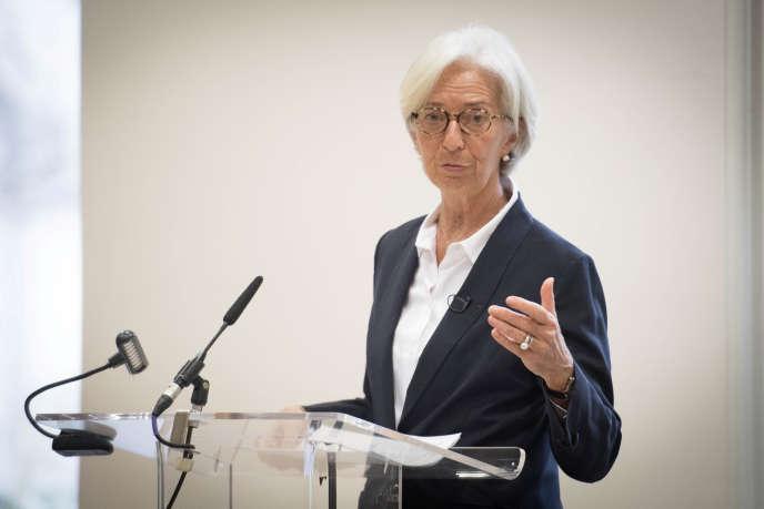 Christine Lagarde, le 20 décembre.