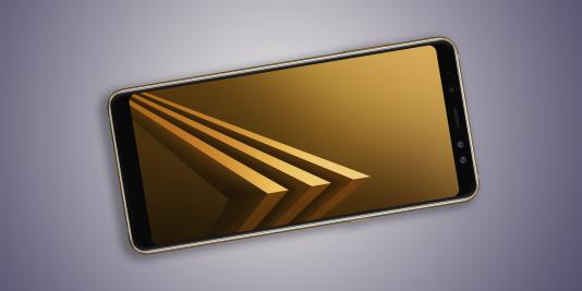 Le Samsung Galaxy A8, successeur du A5, intègre un écran au curieux format 18,5:9.