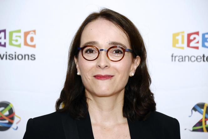 La présidente de France Télévisions, Delphine Ernotte, en juin 2016, à Paris.