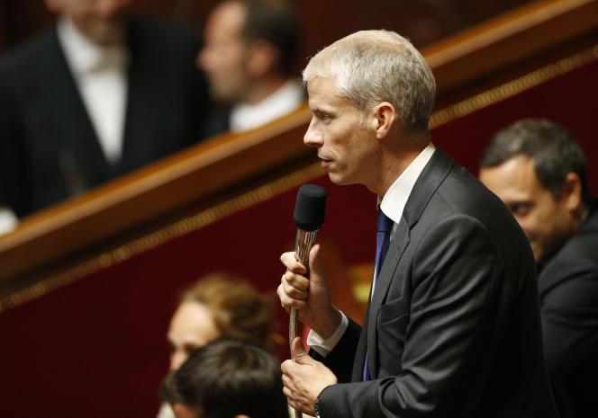 Franck Riester, député Agir, la droite constructive, est membre de la commission des affaires culturelles de l'Assemblée nationale. Ici, le 28 juin.