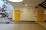 L'hôpital Robert Ballanger, à Aulnay-sous-Bois.