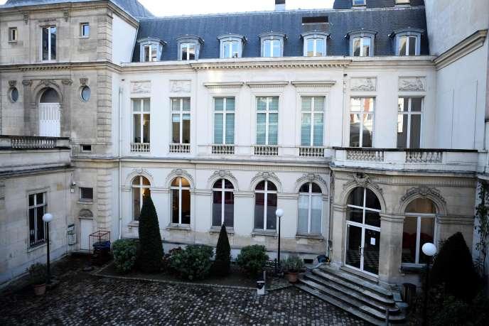 Le siège du Parti socialiste, situé 10 rue de Solférino, à Paris.