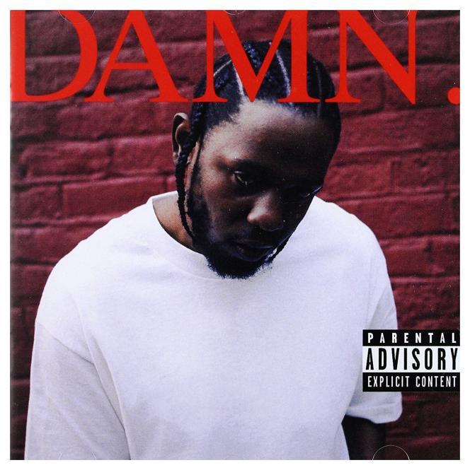 Pochette de «DAMN.», de Kendrick Lamar.
