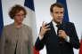 Emmanuel Macron et la ministre du travail Muriel Pénicaud, le 21 décembre 2017 à l'Elysee.