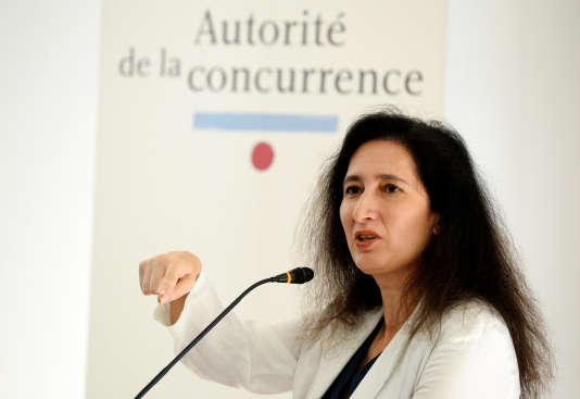 Isabelle de Silva, la présidente de l'Autorité de la concurrence, le 3 juillet, à Paris.