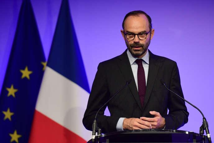 Le premier ministre, Edouard Philippe, ouvre les Etats généraux de l'alimentation, le 20 juillet à Paris.