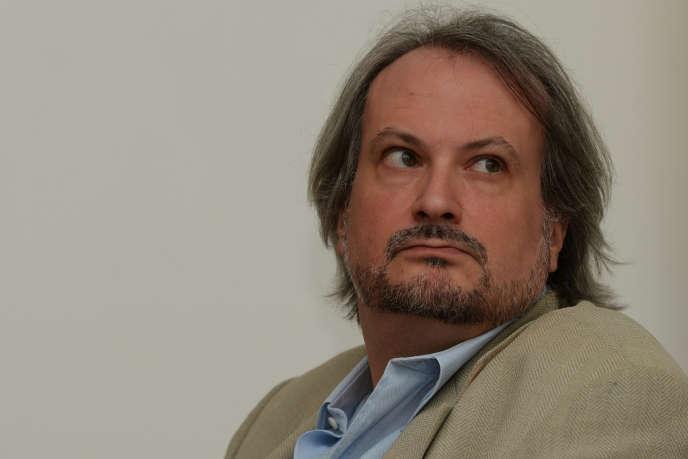 L'ancien directeur de la Pinacothèque de Paris, Marc Restellini, à New Delhi en avril 2014.