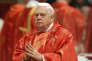 Le cardinal Bernard Law, au Vatican, en mars 2013.