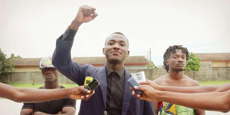 Kader Latyf Koné, dit« Papouni», à Abidjan.