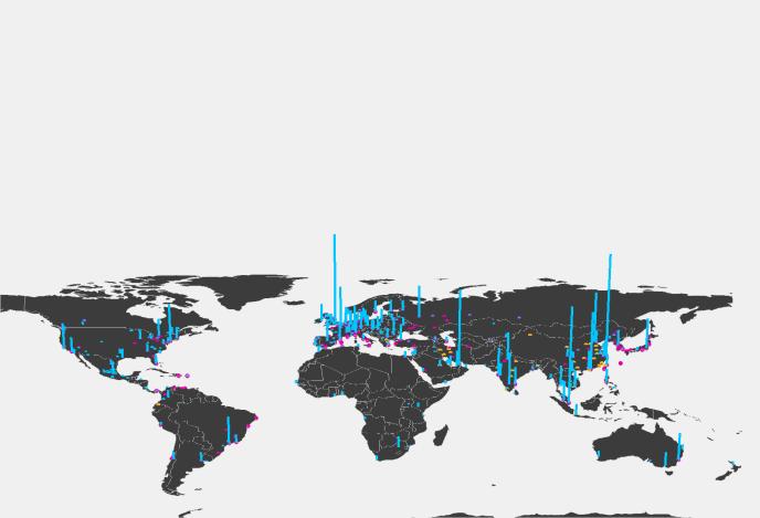 Impact des réseaux de métro sur l'attractivité des villes pour les investisseurs internationaux