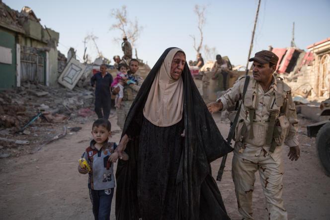 Le 4 juin, les 9e et 16e divisions de l'armée irakienne lançaient une offensive dans le quartier d'Al Zinjili, situé à l'ouest de Mossoul.