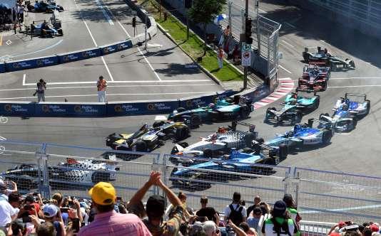 20 000 places ont été offertes lors du double ePrix de Montréal des 28 et 29 juillet 2017.
