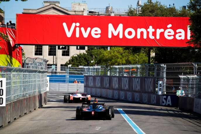 Lors de l'ePrix de Montréal (Canada) les 28 et 29 juillet 2017.
