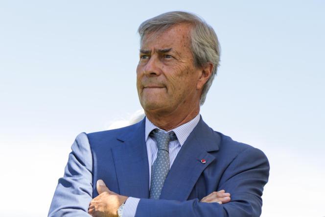 Le patron du groupe Canal+, Vincent Bolloré, le 26 juin à Paris.