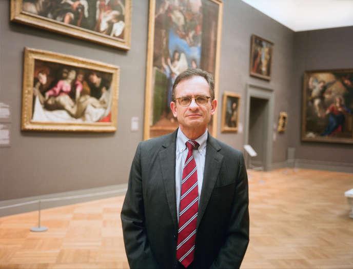 Le président du Metropolitan Museum of Art, Daniel Weiss, à New York, le 18 décembre 2017.