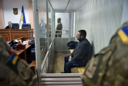 Stanislav Iejov, le 22 décembre lors d'une audience au tribunal de Kiev.