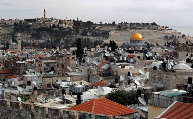 La vieille ville de Jérusalem, le 19 décembre.