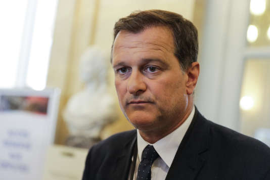 Louis Aliot, le 21 juin à Paris.