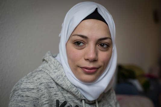 Ruaa Abu Rashed, de Syrie, ici en Allemagne.