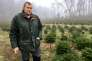 Fabien Bussy, 43 ans, exploite quarante hectares de sapins.