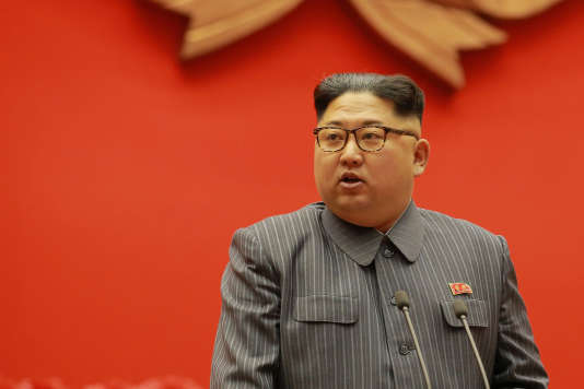 Le leader de Corée du Nord Kim Jong-un, le 23 décembre à Pyongyang.