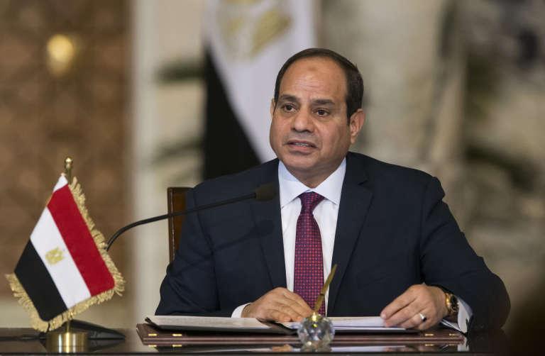 Le président égyptien Abdel Fattah Al-Sissi au Caire, le 11 décembre.