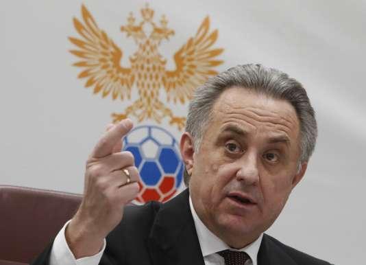 Vitali MOutko, lundi 25 décembre à Moscou.